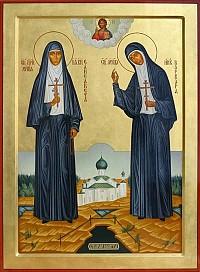 Patron Saints: Grand Duchess Elizabeth and Nun-martyr Barbara
